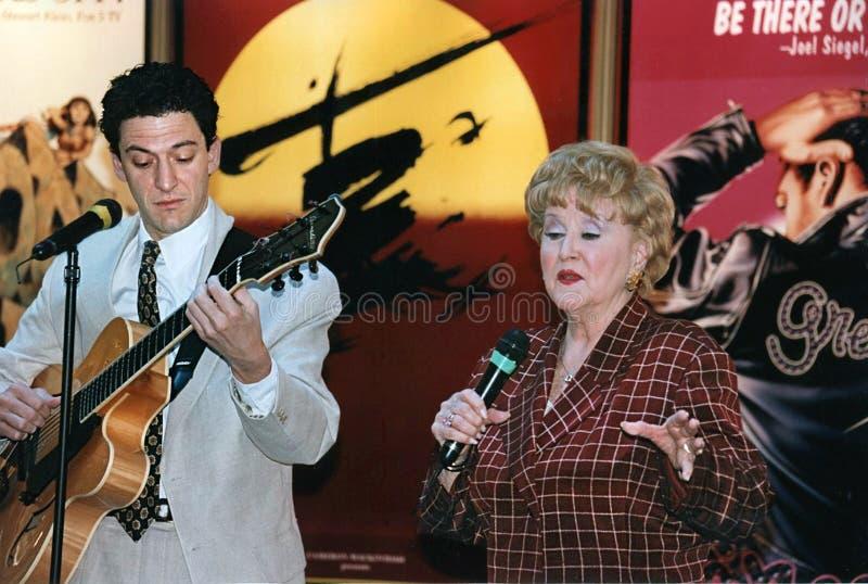Margaret Whiting e John Pizzarelli fotos de stock royalty free