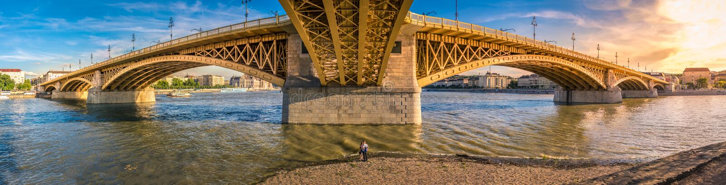 Margaret wyspy most zdjęcia royalty free