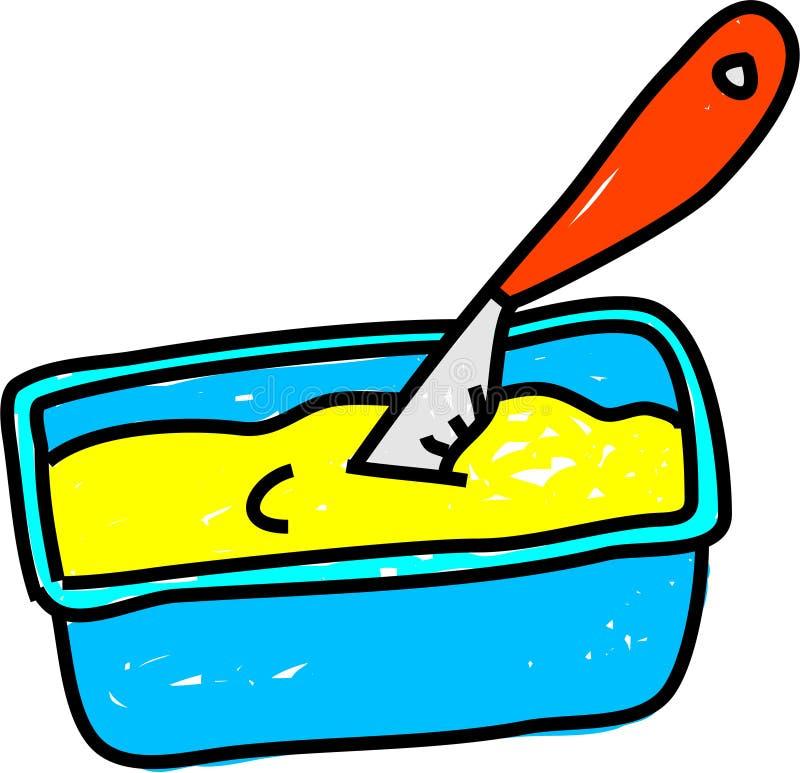 Margarina illustrazione vettoriale