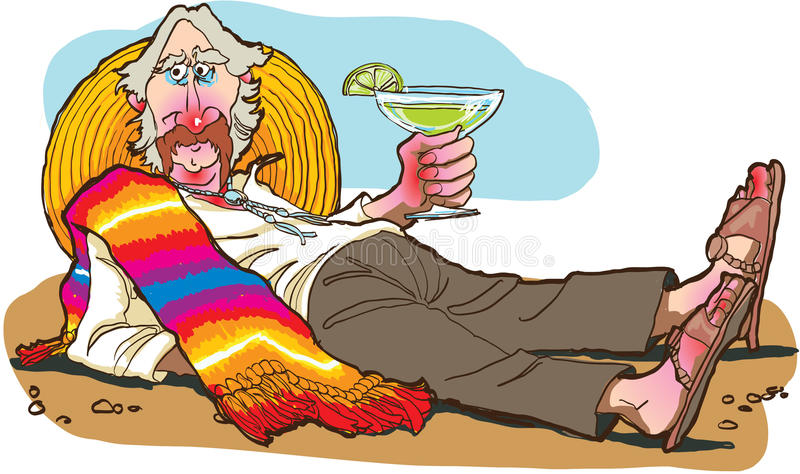 Margarita illustration libre de droits