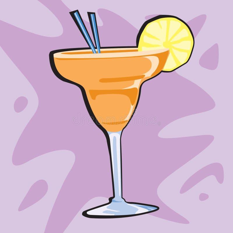 Margarita. A spot illustration of a margarita stock illustration