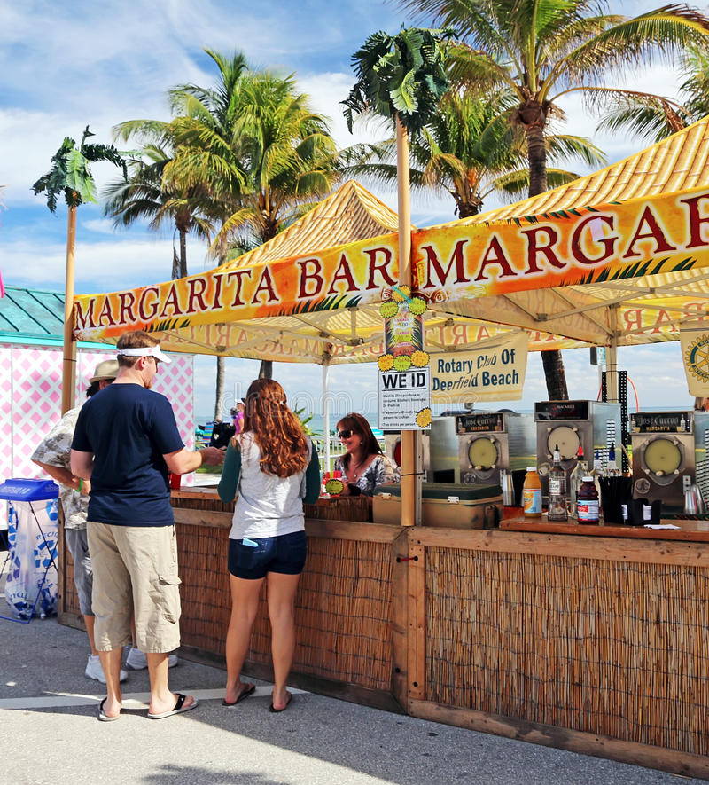 Margarita Bar imagem de stock royalty free