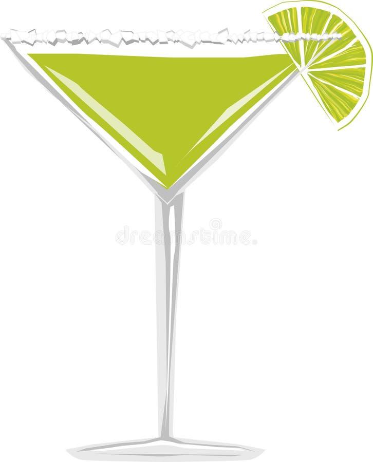 Margarita-Cocktail vektor abbildung