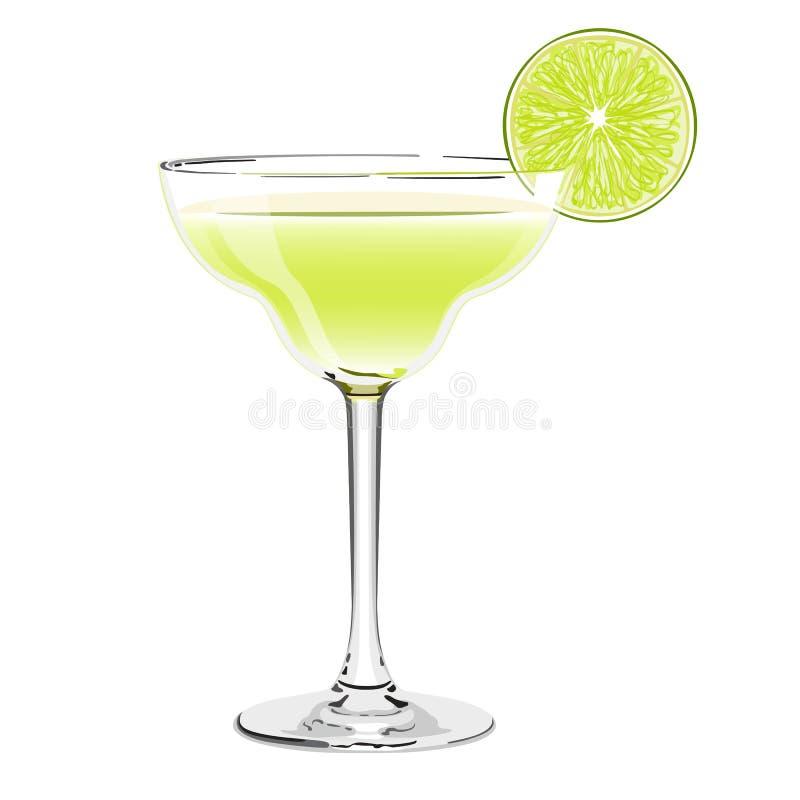 Margarita cocktail. Food concept. margarita cocktail illustration stock illustration
