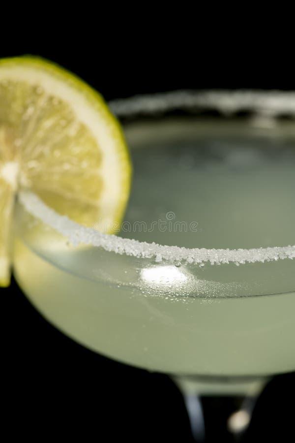 Margarita Cocktail met tequila, citroensap en cointreau stock fotografie