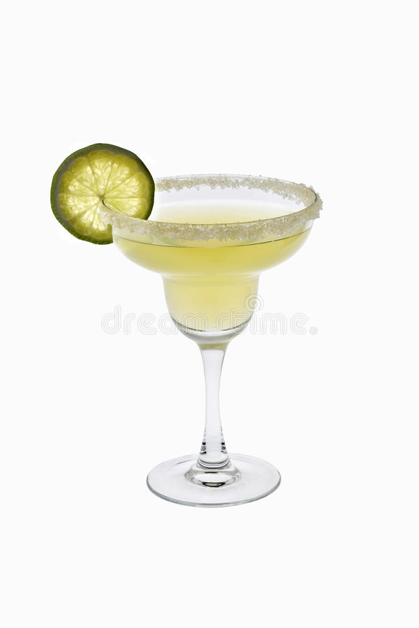Download Margarita Cocktail On A White Background Stock Image - Image: 12851955