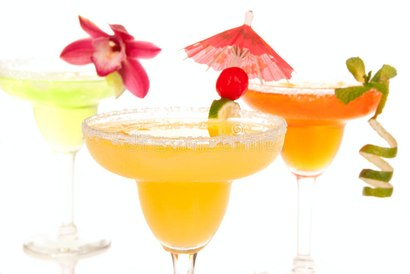 Margarita-Cocktails stockfotografie