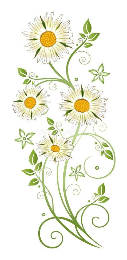 Margarita de margarita stock de ilustración