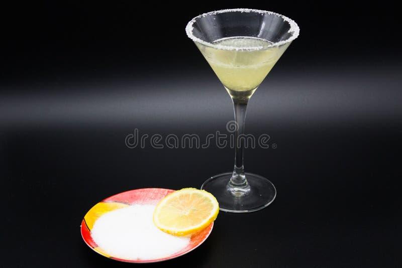 Margarita e limone del cocktail fotografie stock