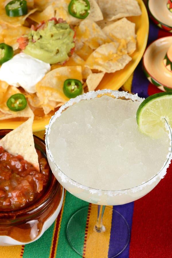 Margarita e nacho immagini stock libere da diritti