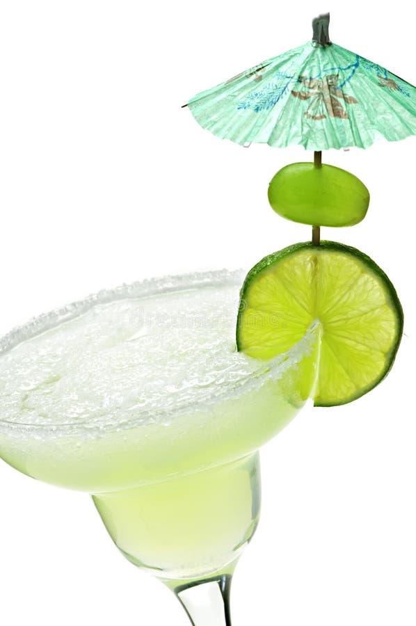 Margarita in een glas stock afbeelding
