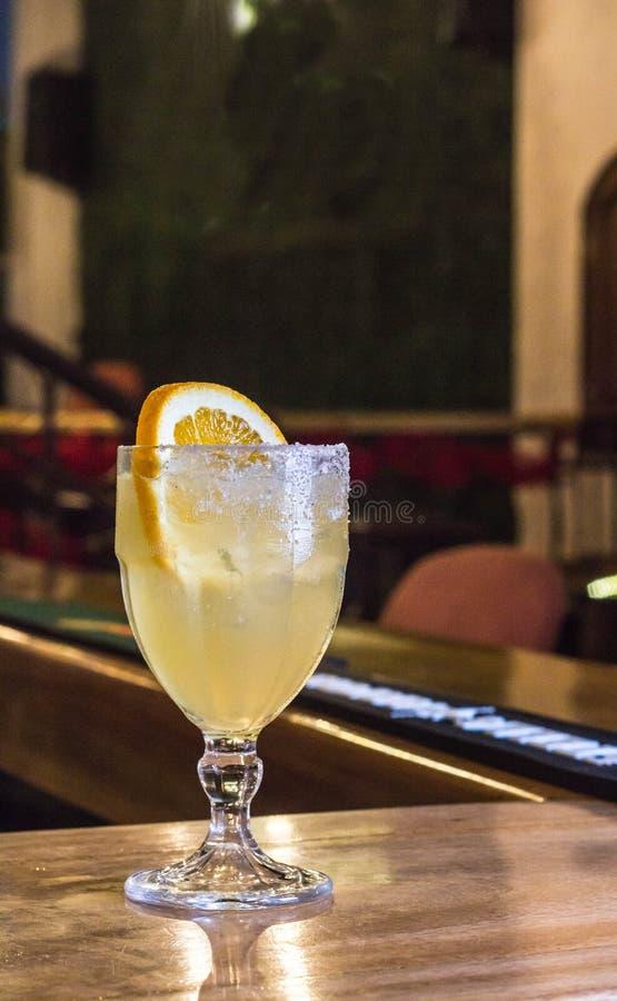 Margarita Fizz Cocktail stockfotos