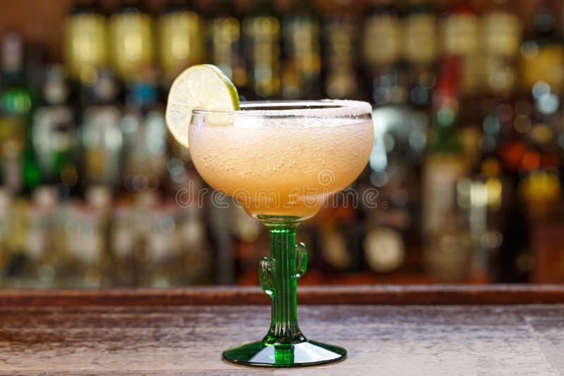 Margarita fryst coctail royaltyfria foton