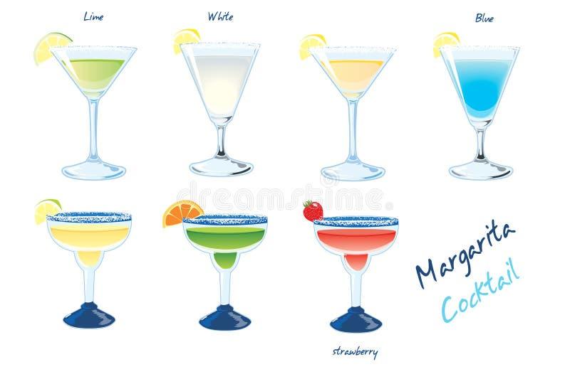 Margarita-Getränke lizenzfreie abbildung
