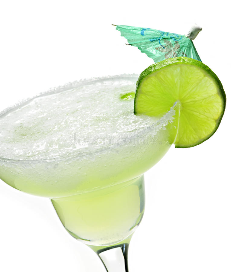 Margarita in a glass royalty free stock photo