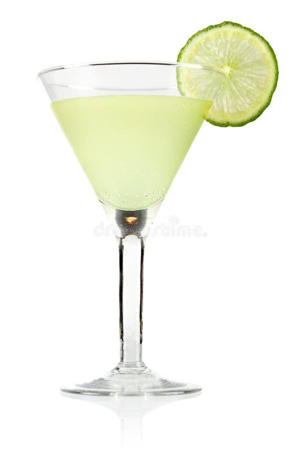 Margarita i exponeringsglas arkivbilder