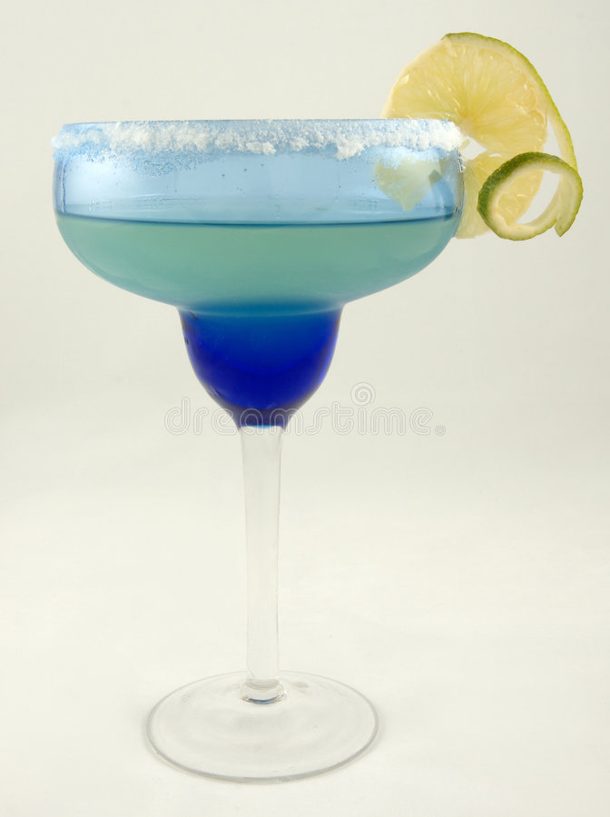 Margarita with lime royalty free stock photography