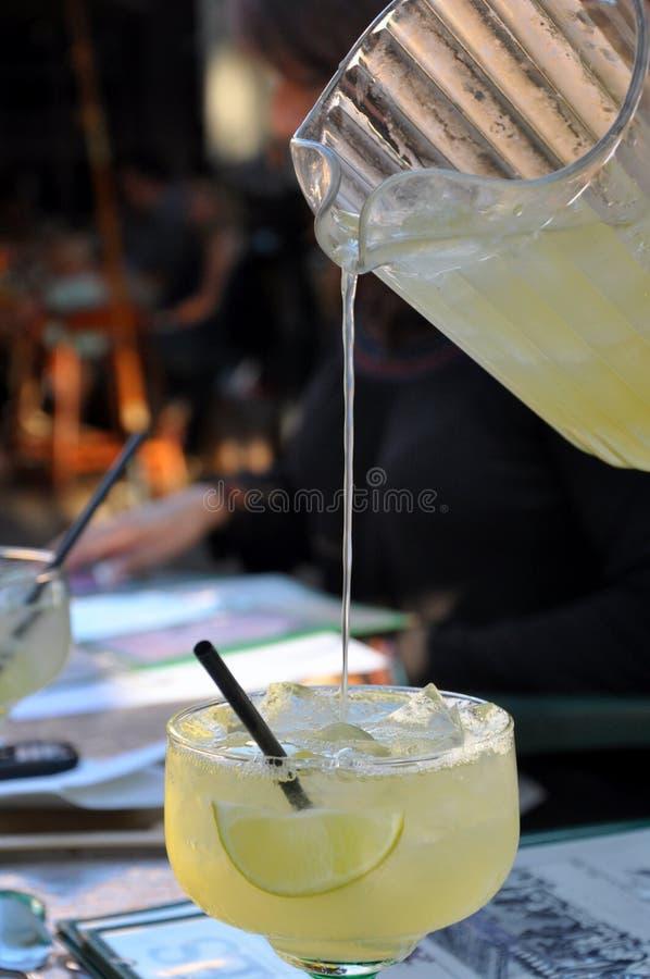 Margarita pleuvoir à torrents image libre de droits