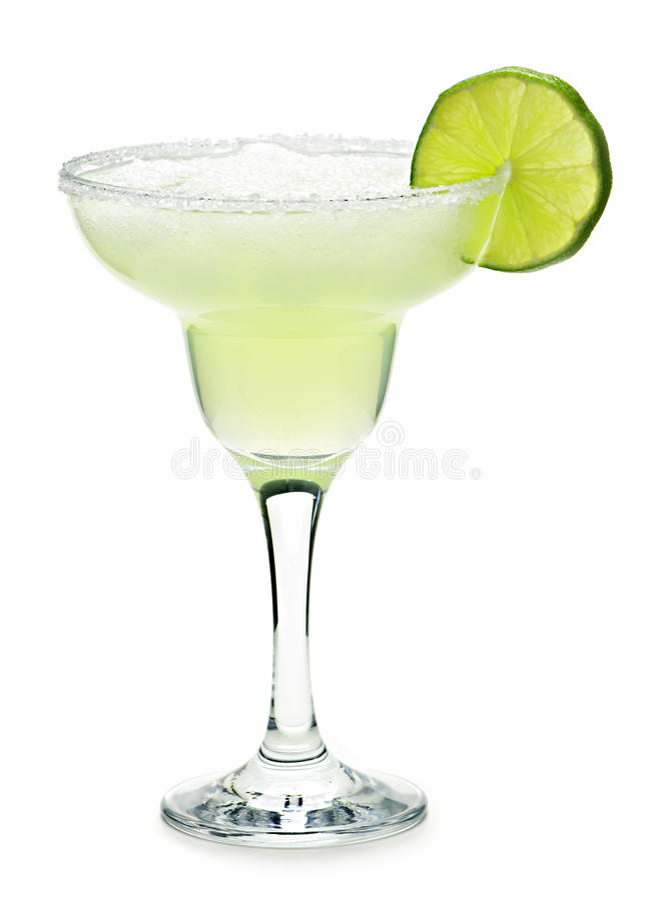 Margarita in un vetro immagini stock