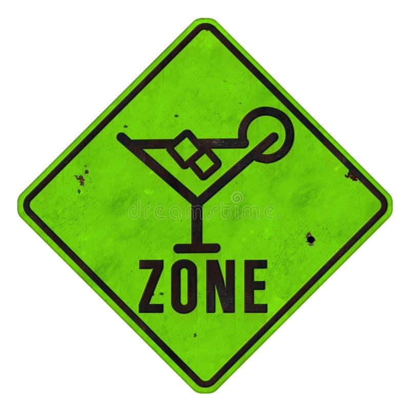 Margarita Zone Sign stock afbeeldingen
