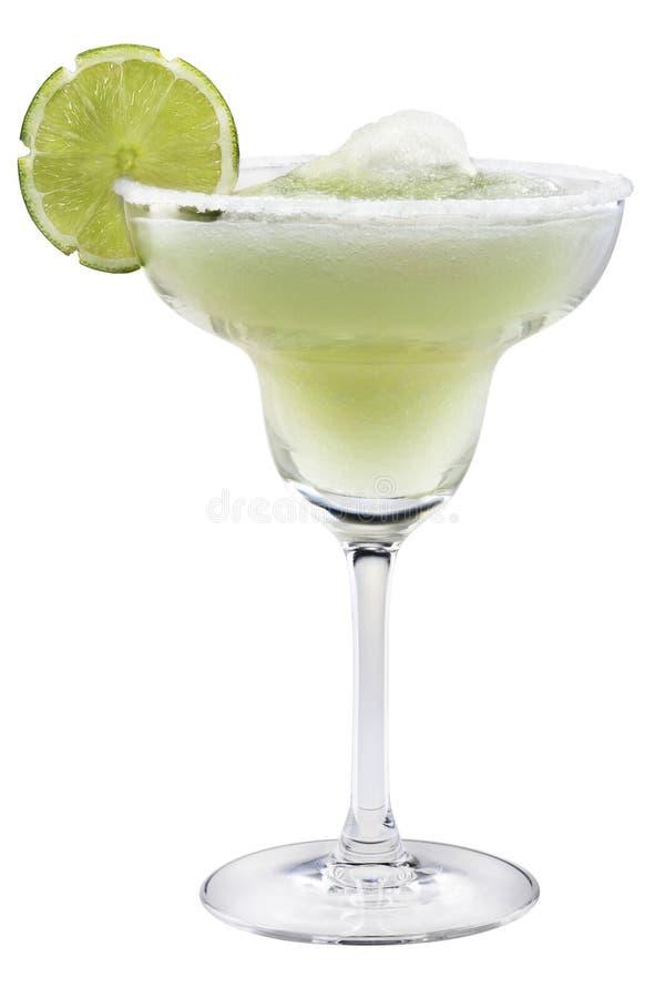 Margaritas con i Margaritas della calce con calce fotografie stock