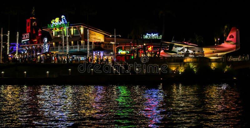 Margaritaville普遍城市位于奥兰多,佛罗里达 库存图片