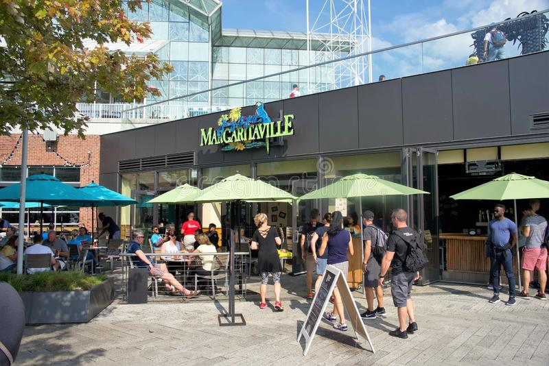 Margaritaville Prętowy i grill, Chicago, IL obrazy stock