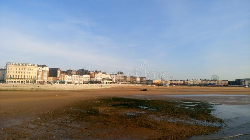 Margate beach royalty free stock photo