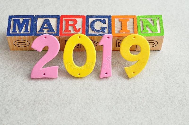 Marge 2019 images libres de droits