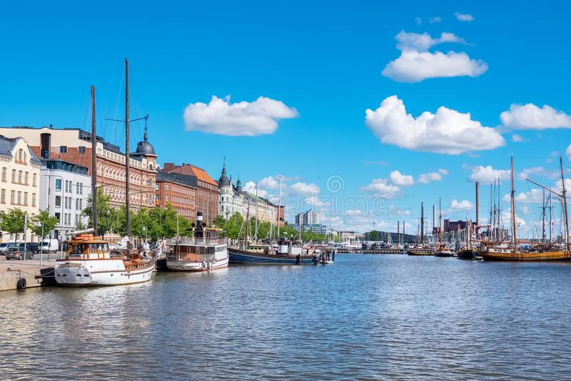 Margem de Helsínquia finland fotos de stock royalty free
