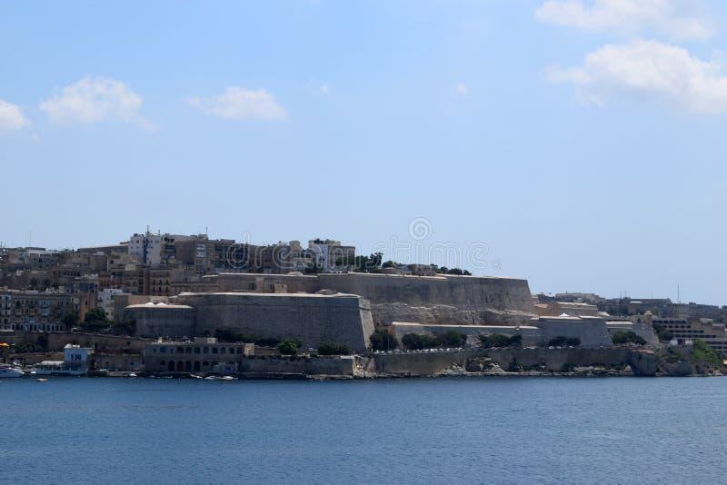 Margem de Sliema, Malta imagem de stock royalty free
