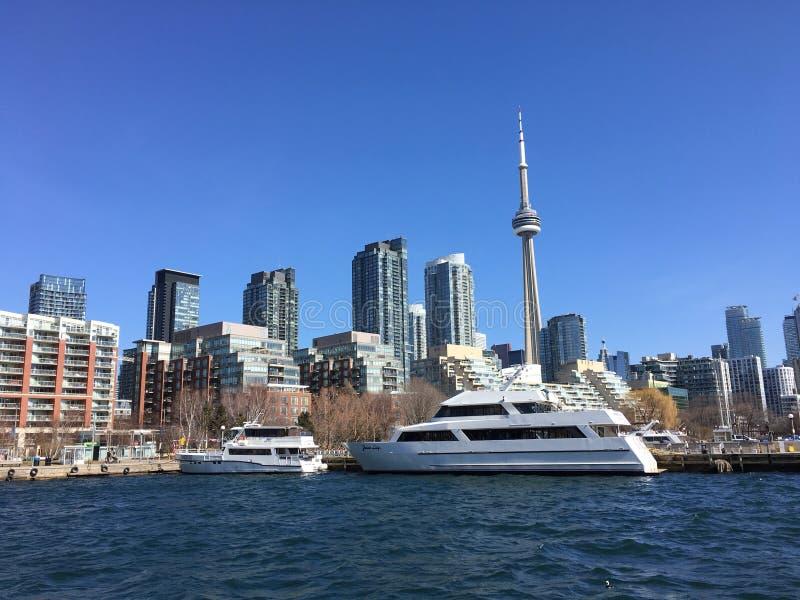 Margem de Toronto's imagens de stock royalty free