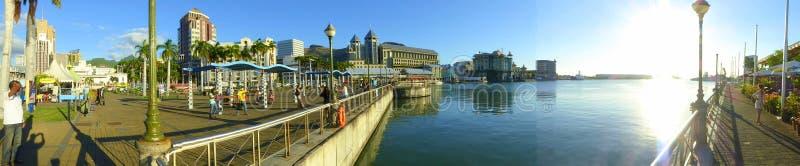 A margem, Port Louis foto de stock