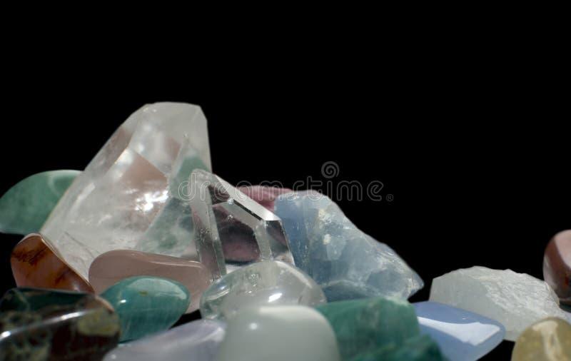 Margen de la piedra preciosa foto de archivo libre de regalías