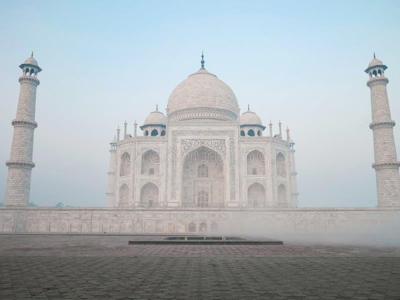 Margen del Taj Mahal de Agra imágenes de archivo libres de regalías
