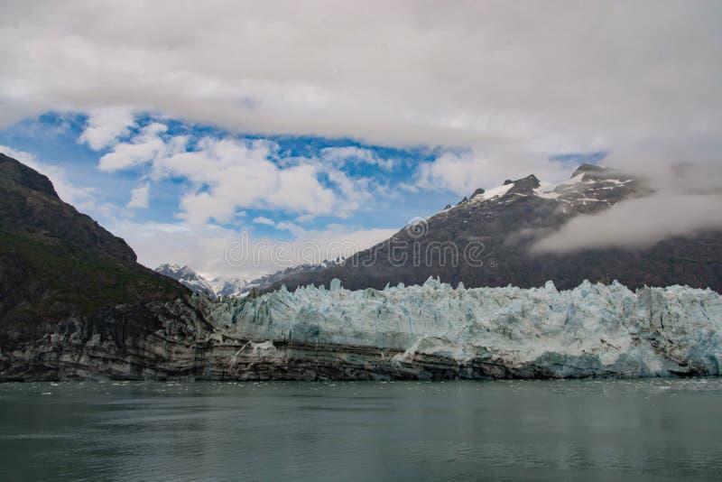 Margerie冰川 免版税库存图片