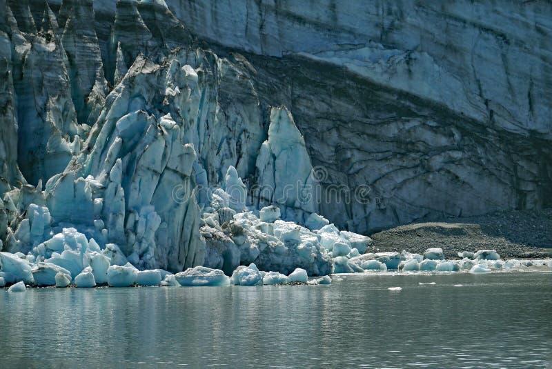 Margerie-Gezeitenwasser galcier, Glacier Bay, Alaska lizenzfreies stockbild