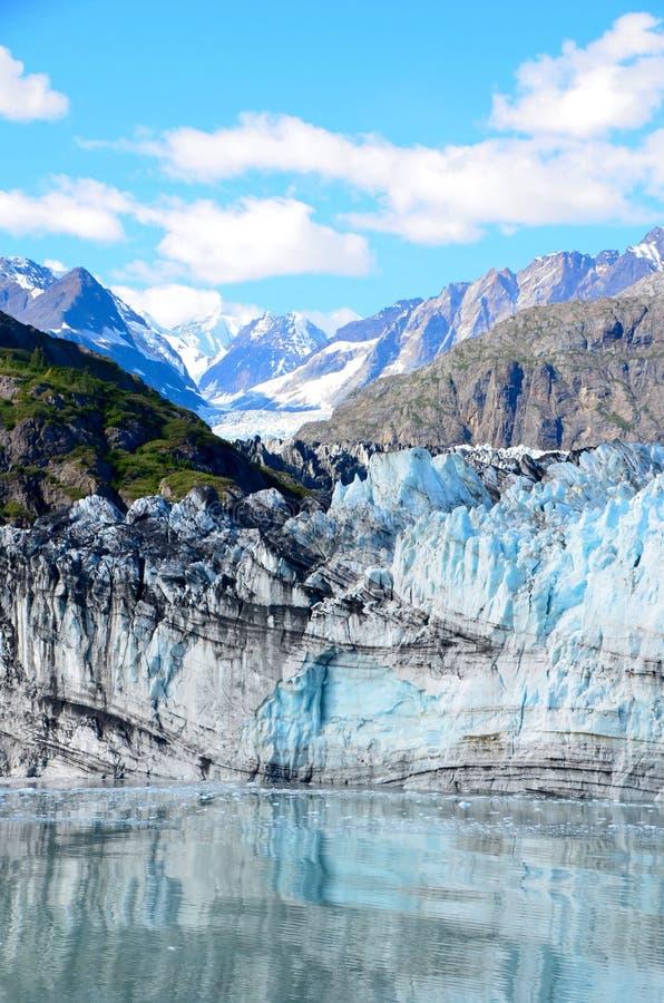 Margerie glaciär royaltyfria foton