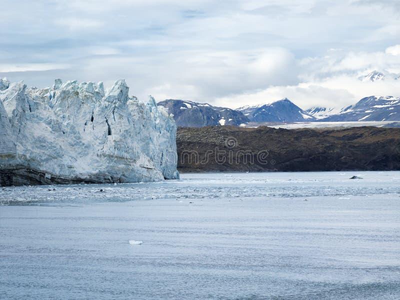 Margerie Glacier på nationalparken för glaciärfjärd, Alaska royaltyfri bild