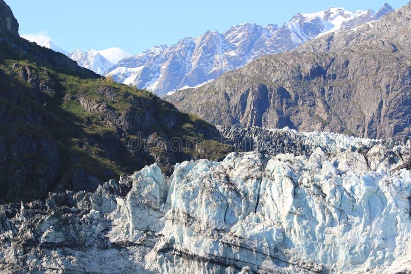 Margerie Glacier, parc national de baie de glacier, Alaska photo libre de droits
