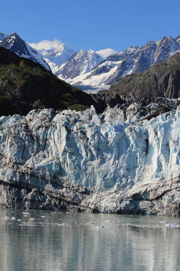 Margerie Glacier, parc national de baie de glacier, Alaska image libre de droits