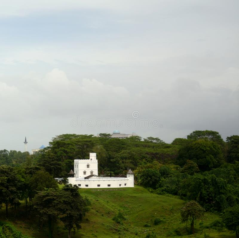 Margherita Fort, Kuching, Malaysia stockfoto