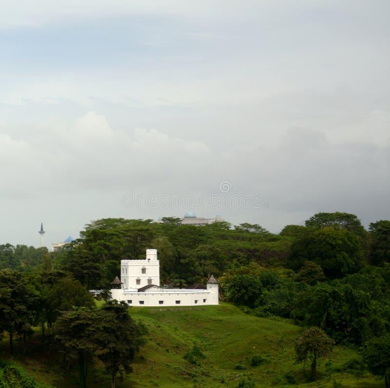 Margherita Fort, Kuching, Maleisië stock foto