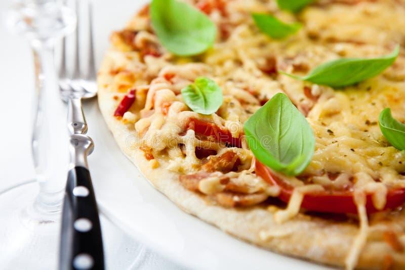 margherita pizza fotografia royalty free