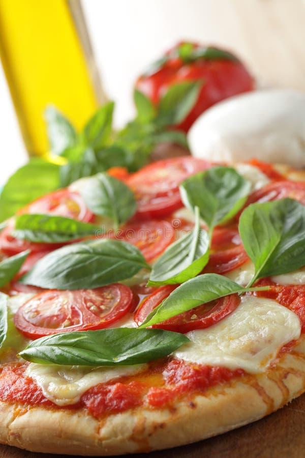 margherita pizza obrazy stock