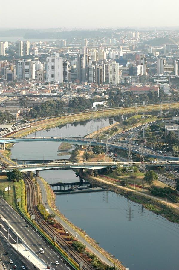 Free Marginal Pinheiros - São Paulo Royalty Free Stock Photos - 9096008