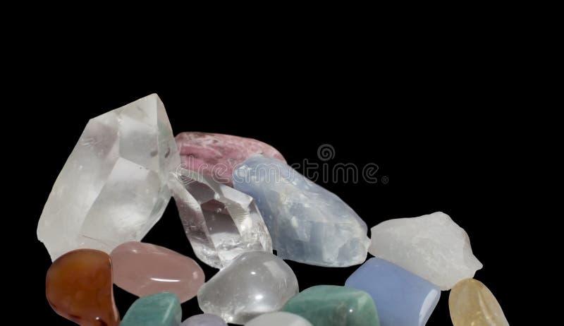 Margine della pietra preziosa fotografia stock