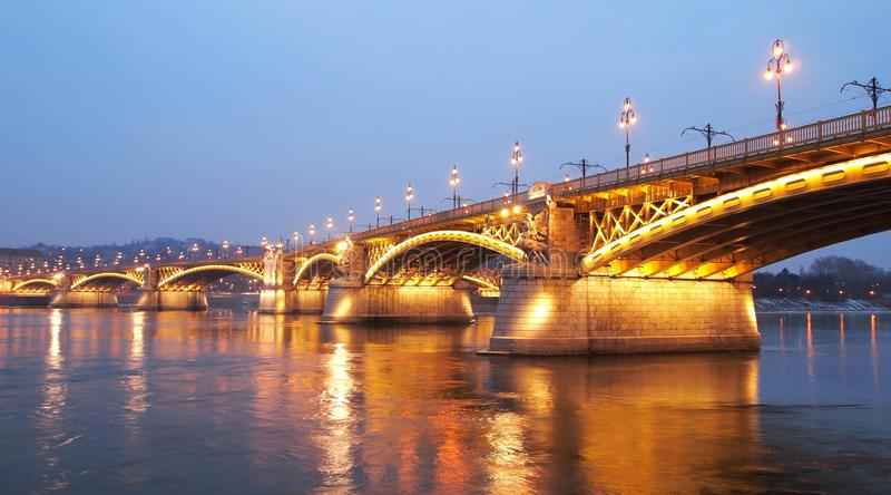 Margit Bridge royalty free stock image