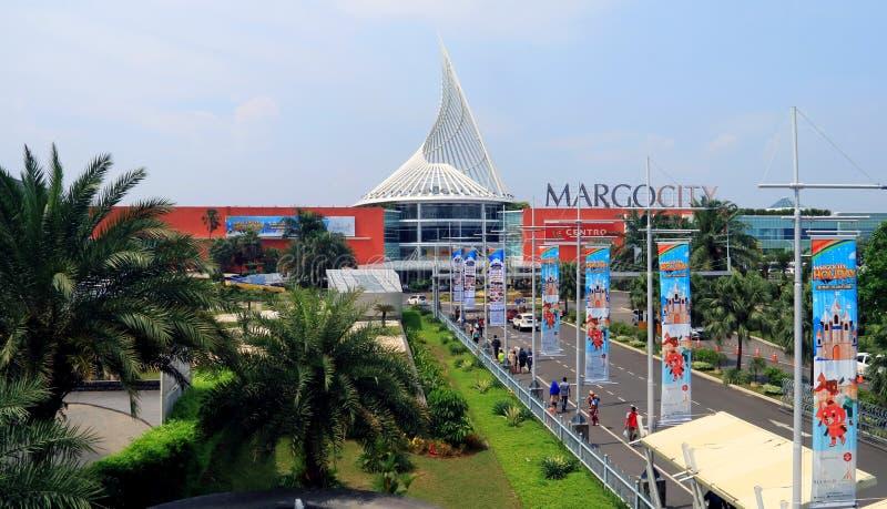 Margo City Mall. Depok, Indonesia - May 26, 2018: Margo City, super mall in Jalan Margonda, Depok, West Java royalty free stock image