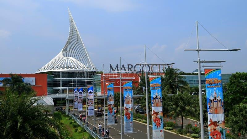 Margo City Mall. Depok, Indonesia - May 26, 2018: Margo City, super mall in Jalan Margonda, Depok, West Java stock image